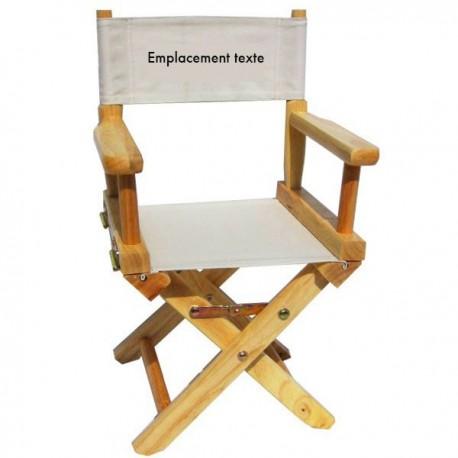 fauteuil metteur en sc 232 ne b 233 b 233 naturel