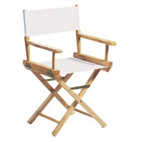 fauteuil metteur en sc ne adulte chassis bois naturel. Black Bedroom Furniture Sets. Home Design Ideas