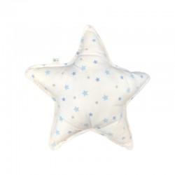 coussin étoiles bleues