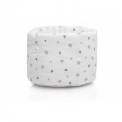 Corbeille étoiles grises