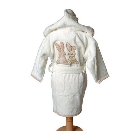 Peignoir Pompon le lapin