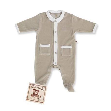 Pyjama Chocolat Blanc