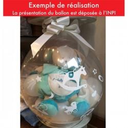 Ballon Cadeau de naissance 1