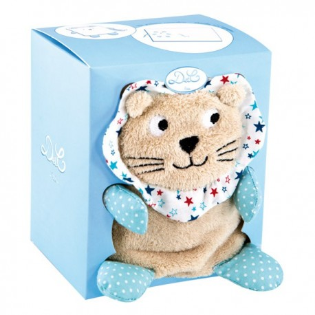 Couverture Doudou lion