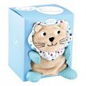 Couverture bébé Doudou lion