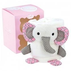 Couverture Doudou éléphant
