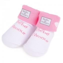 chaussettes bébé d'amour
